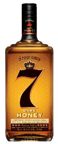Seagrams 7 Crown Whiskey Dark Honey